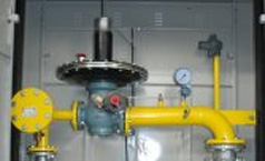 Gas regulator for mesolow boiler/ Gas valve block
